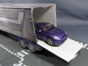 TFプライム アームズマスターオプティマス用ペーパークラフトコンテナ025