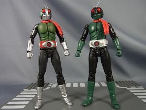 SHF仮面ライダー1号(桜島1号)と新一号を比較002