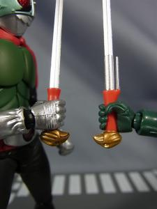 SHF仮面ライダー1号(桜島1号)と新一号を比較011