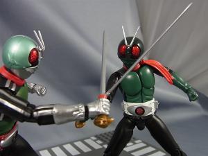 SHF仮面ライダー1号(桜島1号)と新一号を比較013