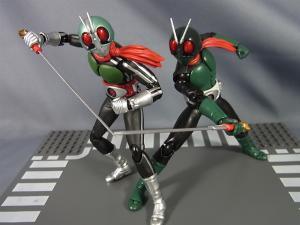 SHF仮面ライダー1号(桜島1号)と新一号を比較014