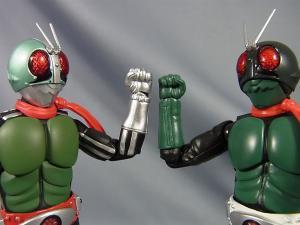 SHF仮面ライダー1号(桜島1号)と新一号を比較017