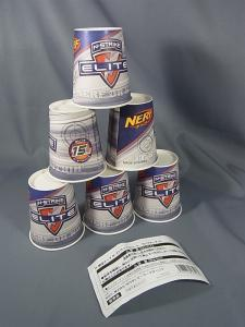 ナーフ N-ストライクエリート リフィルパックターゲットカップ007