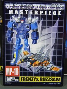 トランスフォーマー マスターピース MP16 フレンジーバズソー005