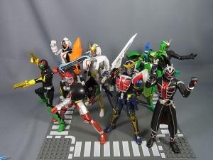 仮面ライダー鎧武 (ガイム) AC EX レジェンドライダーアームズセットで遊ぼう016
