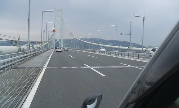 明石海峡大橋だよん♪