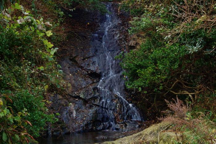 河下港の滝