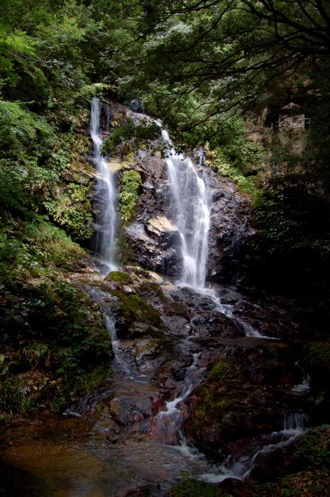 青笹滝の観音