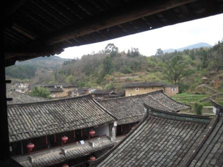 福裕楼から見える瓦屋根2