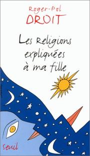les religions expliquees a ma fille