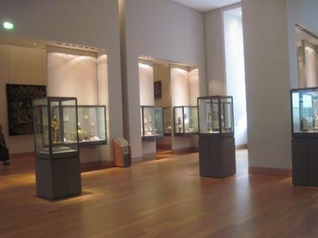 古代装飾品コーナー