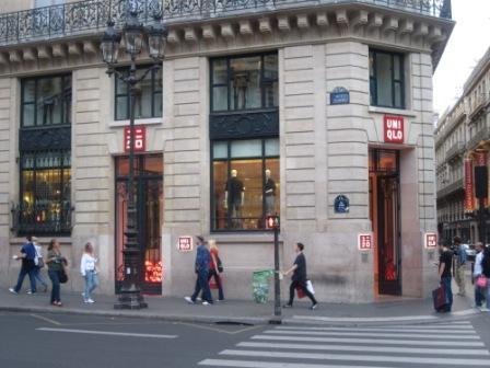 ユニクロ パリ店