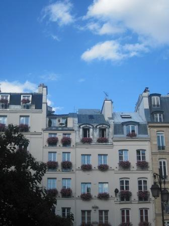 パリのアパート
