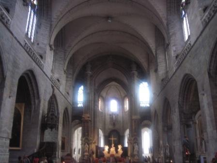バンヌサンピエール大聖堂中