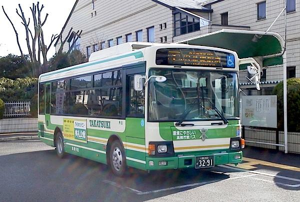 高槻市営バス、写真