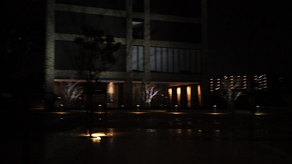 関西大学の夜