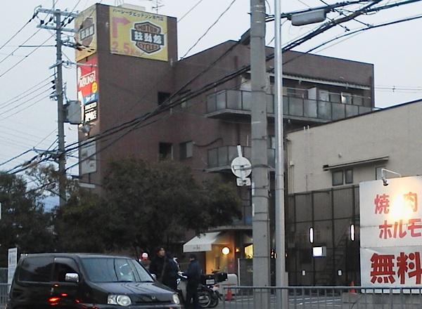 最近、大阪府警のねずみ取りが多い