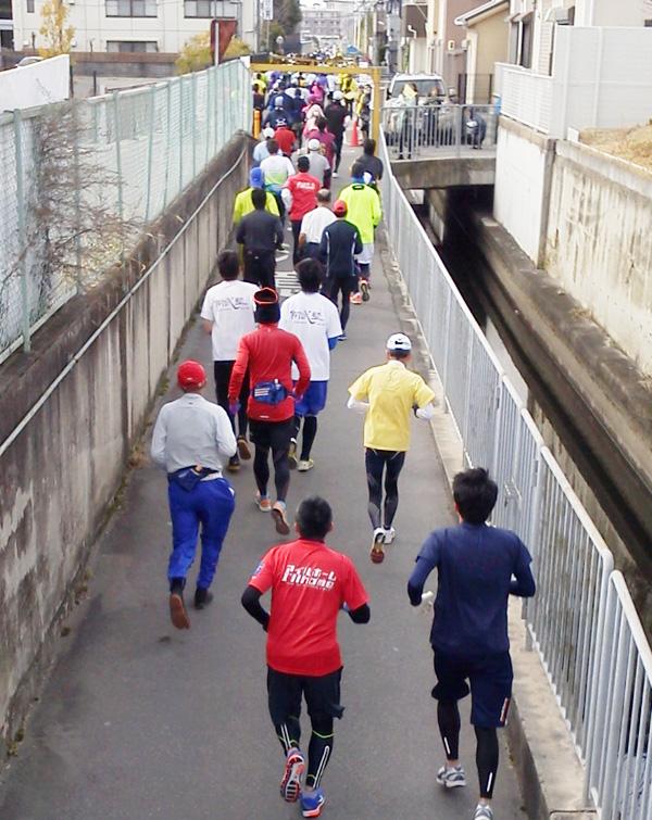 高槻ハーフマラソン、5