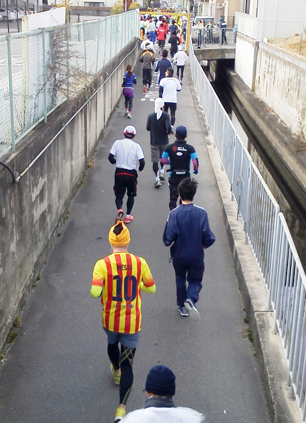 高槻ハーフマラソン、6