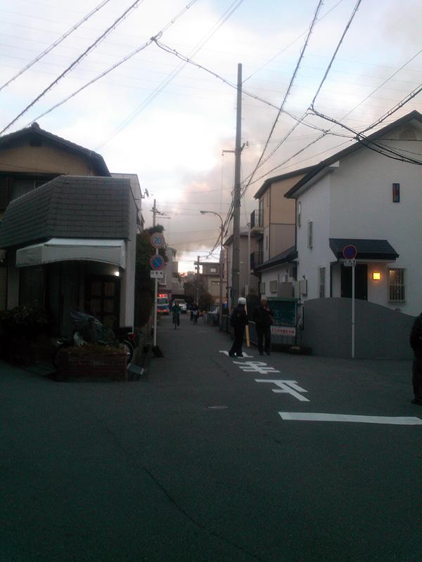 高槻 火事 場所