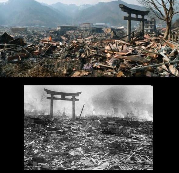 長崎原爆と震災