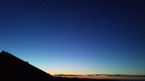 121025明けの明星
