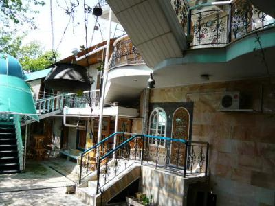 サマルカンド「Furkat hotel」1
