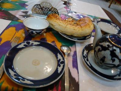 サマルカンド「レストランでラグマン」1