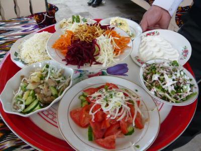 ブハラ「ラビハウズ東側のレストラン」4