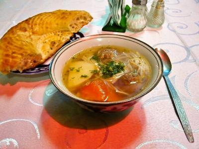 ブハラ「ラビハウズ西側のレストラン」6