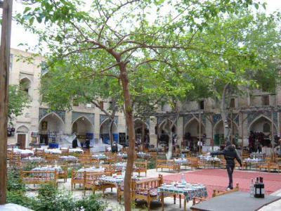 ブハラ旧市街の観光10