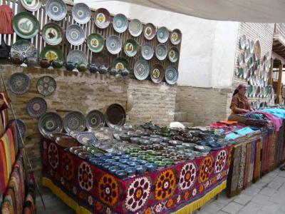 ブハラ旧市街の観光30