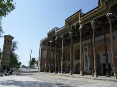ブハラ旧市街の観光53
