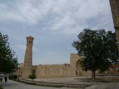 ブハラ旧市街の観光111