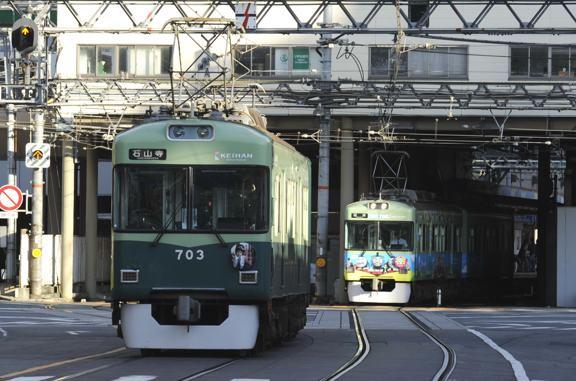 石山坂本線1