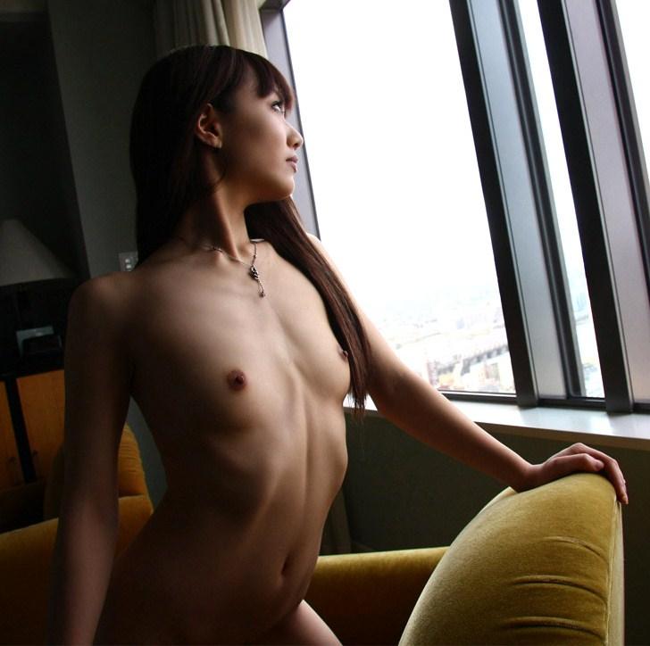 スレンダー美女の気持ちイイハメ撮りセックス 画像37枚