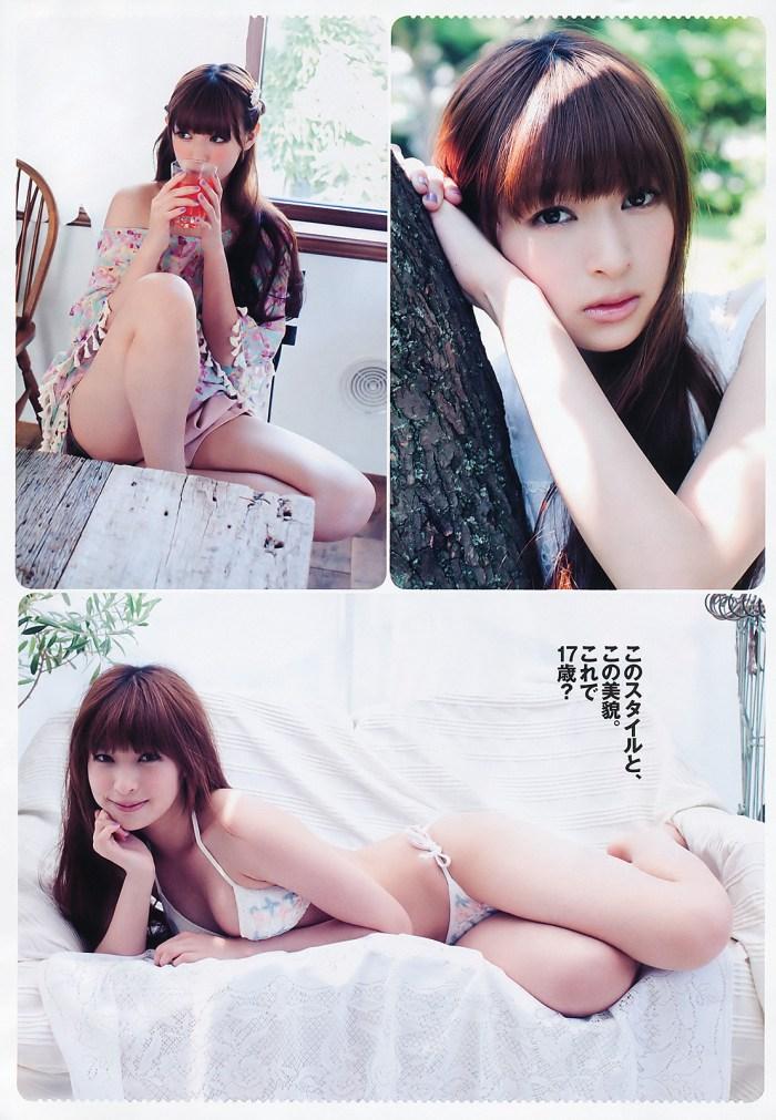 日南響子 グラビア 「女の子だけじゃ、もったいない!!」