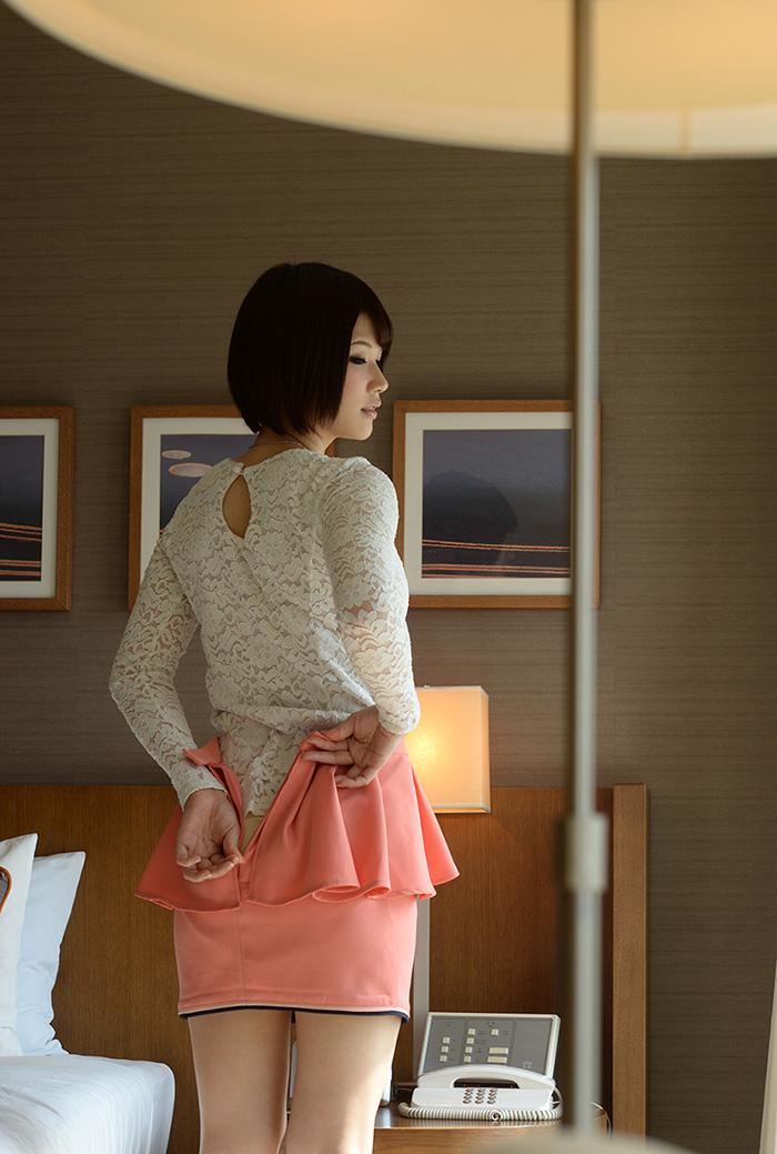 AV女優 白咲碧 ハメ撮り セックス画像 10