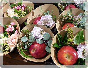 姫りんごの花束