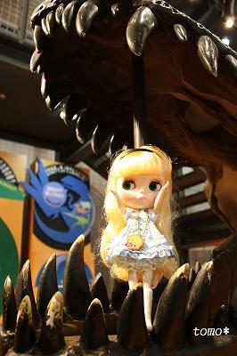 縮小ブログ用ブライスと恐竜博物館