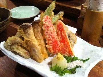 どら 野菜天ぷら