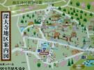 深大寺地区案内図