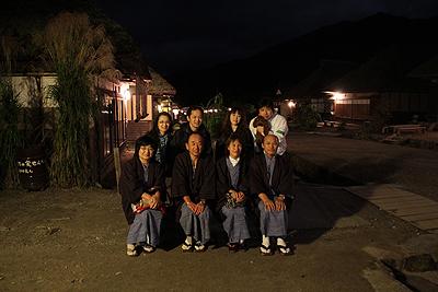 夜の大内宿 2010.90005
