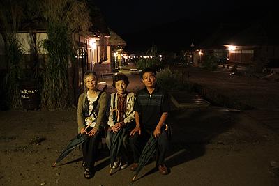 夜の大内宿 2010.90002