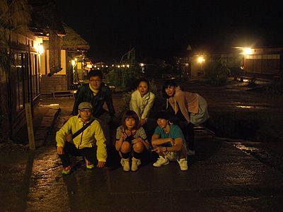 夜の大内宿 2010.90001