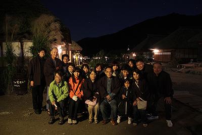 夜の大内宿 2010.90006