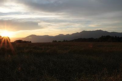 今日の夕焼け 20101002 03