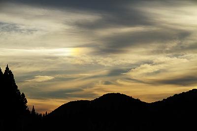 今日の夕焼け 20101002 07