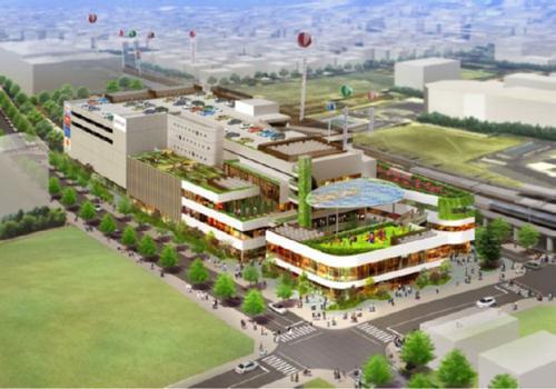 「ポンテグランデTOKYO」千住の複合商業施設