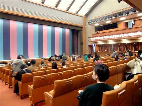 新歌舞伎座の1階席